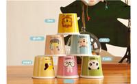 animation lens - High Quality Animation Mugs Cute Cartoon Animal Sumiyaki Coffee Cup ml Small Mark Milk Cup Pudding Cap