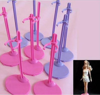 barbie dolls - hot selling Doll Stand Display Holder For Barbie Dolls Monster High dolls