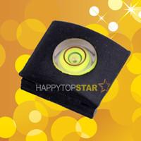 Cheap Wholesale-Hot shoe Hotshoe Protector cover cap With Bubble Spirit Level for CANON EOS 700D 60D 70D 5D III NIKON D800E OLYMPUS PENTAX DSLR