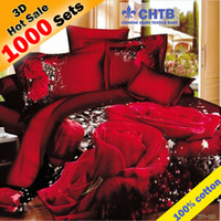 Cheap 3d bedding set bed set linen cotton queen king size bedclothes duvet cover pillowcase rose bedding-set Owl Marilyn Monroe 800TC