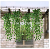 Wholesale CM feet Atificial Fake Hanging Plant Vine Leaves Garland Home Garden Wall Decoration AE01494