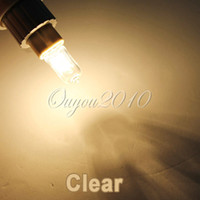 Wholesale Clear Transparent G9 V W W W W W W Halogen Lighting Light Bulb Lamp Warm White