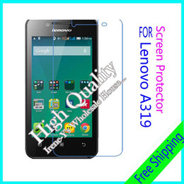 Wholesale Good quality high clear phone screen protect film For Lenovo A319 Without tracking number