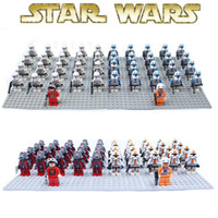 Wholesale Star wars Figures Yoda Sith warrior Clones robot crops Building Blocks Sets Bricks Classic Toys