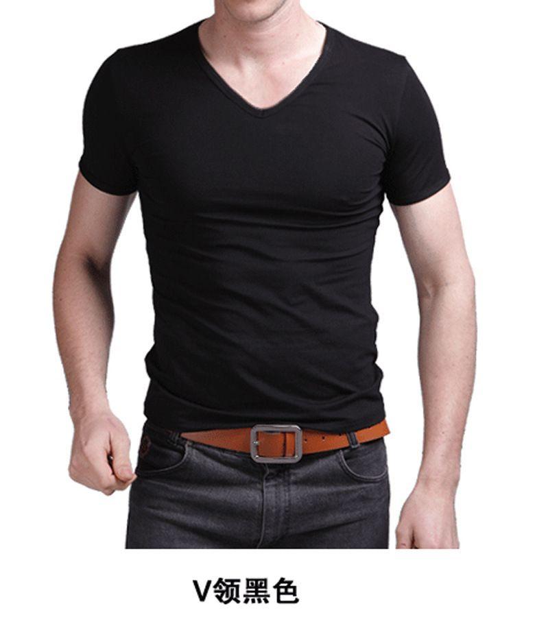Wholesale new black men 39 s cheap clothes slim fit cotton for Cheap slim fit shirts