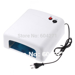 Wholesale-4pcs 365nm uv light bulbs UV lamp 36w Nail Gel Curing Dryer nail art tools uv lamp Drop Shipping