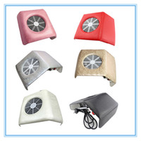 nail color machine - Color Nail Art Dust Suction Collector Manicure Filing Acrylic UV Gel Machine Nail Art Tools