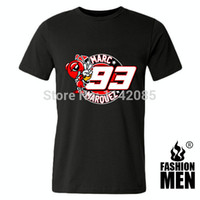 motorcycle shirt - Marc Marquez Motogp black T shirt for men Moto GP motorcycle racing sport men s loose fitting T shirt men s print tops