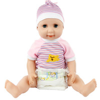 diapers for kids - hot Diaper Doll Cute Girl Dolls Pretty Baby Girl Nice Baby Dolls Toy Plaything Collection for Kids Children HT312