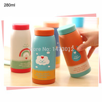 rainbow vacuum - Sweet Sky and Rainbow Pattern Stainless Steel Vacuum Flasks Eco friendly Thermos Cups Heat Preservation ml cm Piece