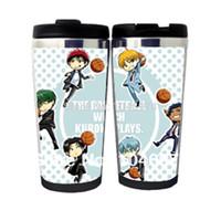 basketball mugs - DIY Vacuum Tetsuya Kuroko cartoon mug stainless steel mug shipping Vulcan big sunspot my basketball cup
