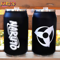 bamboo animations - Japam anime animation Naruto Uzumaki Sasuke kakashi stainless steel insulation cup cosplay costume coser