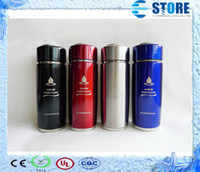 bamboo certificate - New Arrival Stainless Steel Nano Alkaline Energy Vacuum Cup with CE and CIQ Certificate By China Post