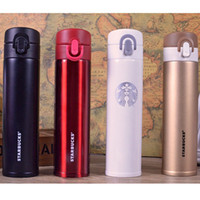 stainless steel double wall bottle - ML thermo thermos for water coffee cups double wall bottle stainless steel travel mug thermo bottle steel Package mail