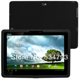 Wholesale Black Silicone Skin Case cover for Asus Eee Pad Transformer TF201 Tablet