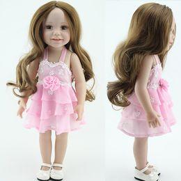 Wholesale Fashion doll inch pretty girl dolls american girl doll toys