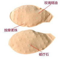 Cheap Wholesale-2015 new arrive women Chest pad Soft balls massage oil pad Hydration underwear inserts rose essential oil Free Shipping