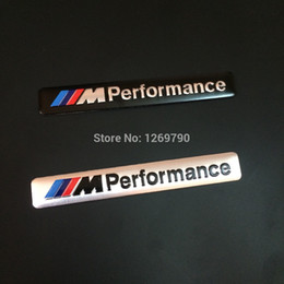 Wholesale New Aluminum Alloy D M performance Badge Emblem body sticker mm mm