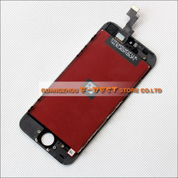 Wholesale-For Apple iPhone 5S LCD display assembly with Touch Digitizer replacement