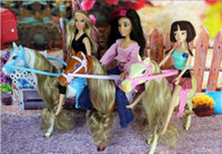 horse doll - Christmas gift Birthday gift Exquisite horse for Barbie doll kurhn doll Liv doll