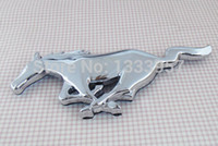 Wholesale Auto car Running Horse for Mustang Trunk Fender Emblem Badge Sticker