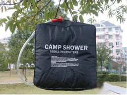 Wholesale L Gallons PVC UV resistant Solar shower water bag camping bag Bathing hot water camp shower