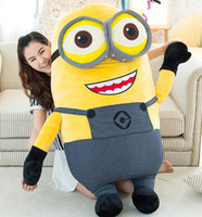 Wholesale CM D eyes Despicable Me Plush Doll Toy Kids Gift Girlfriend Birthday Gift Hot Movie Minion Toys Soft Cute Plush Doll