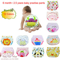 diapers for kids - Retail Cater s Baby Training Pants Infant briefs kids reusable Newborn cotton diapers summer panties for boy shorts