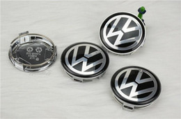 Wholesale Fast shipping good quality car tunning mm vw badge wheel center caps for mercedes part no