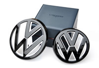 Wholesale Devil style gloss black white front grill rear boot trunk badge emblem for VW volkswagen golf mk7 GTI R TSI TDI t RLINE