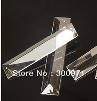 Wholesale Top quality x100mm crystal chandelier trimming crystal chandelier parts crystal curtain pendant