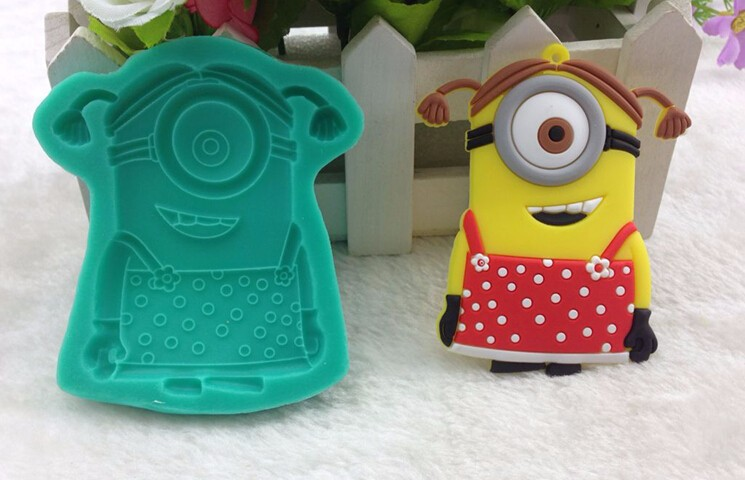 Best And Cheapest Baking Moulds Lovely Cartoon Minions ...