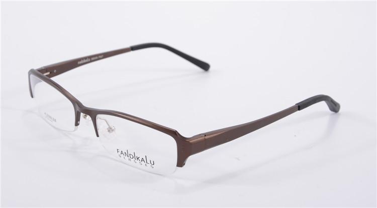 Rimless Eyeglass Frames 2015 : 2015 New Aluminium Eyeglasses Rimless Eyeglass Frame ...