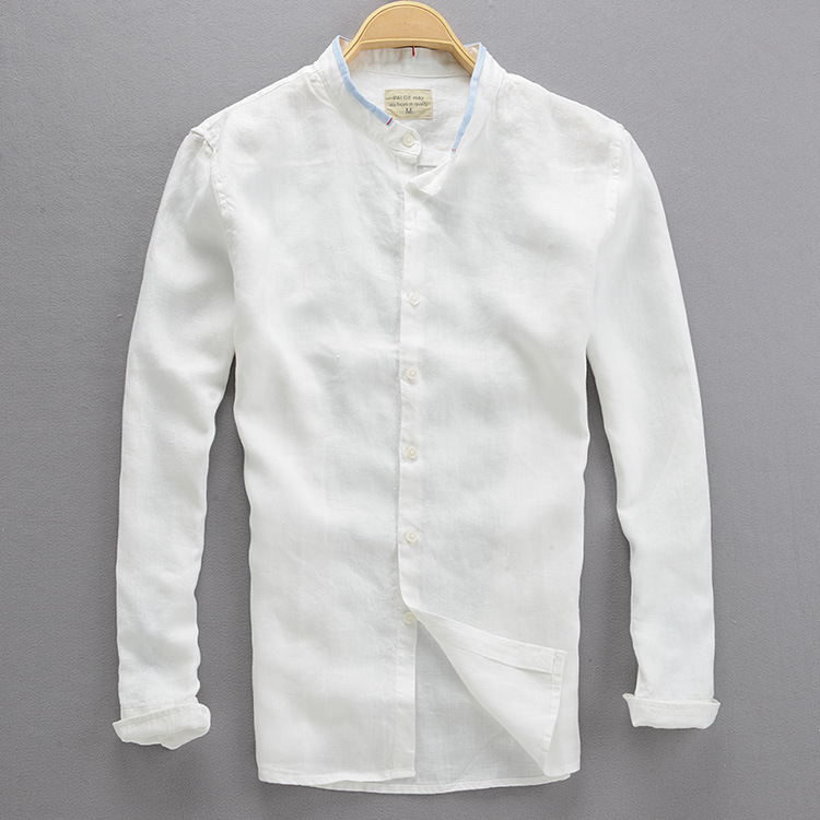 2017 linen shirt men 2015 new arrival spring summer style for Where can i buy shirts