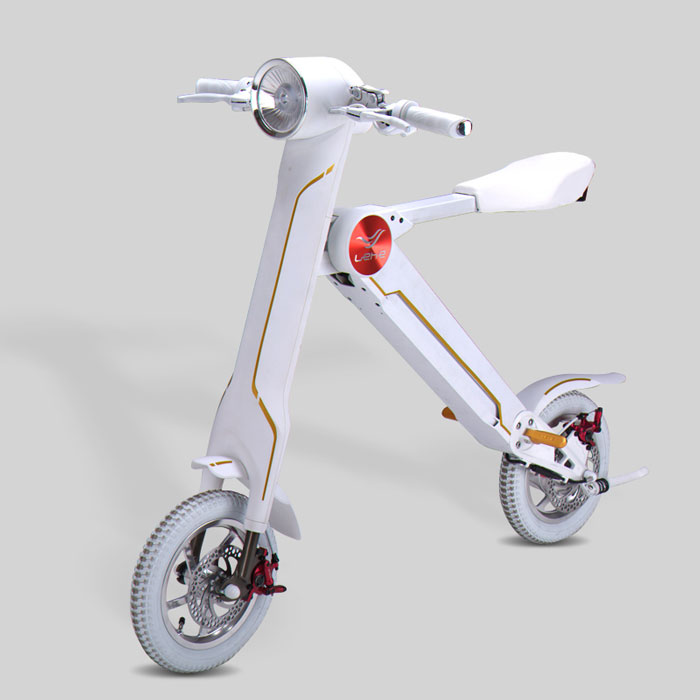 2018 lehe k1 electric bike electric scooter foldable. Black Bedroom Furniture Sets. Home Design Ideas
