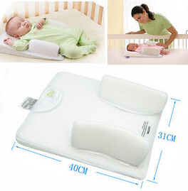 2005 Baby Infant Newborn Anti Roll Pillow Sleep Positioner