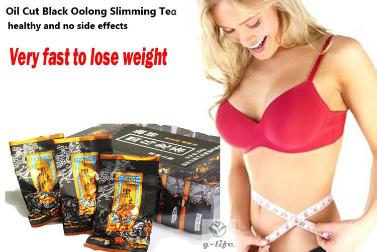 al por mayor aceite de oolong-Oolong del corte del aceite que adelgaza la caja del té El vientre fino nuevo ayuna reduce el peso pierde la pérdida gorda de la quemadura 250g Qs chino delgado del cuerpo