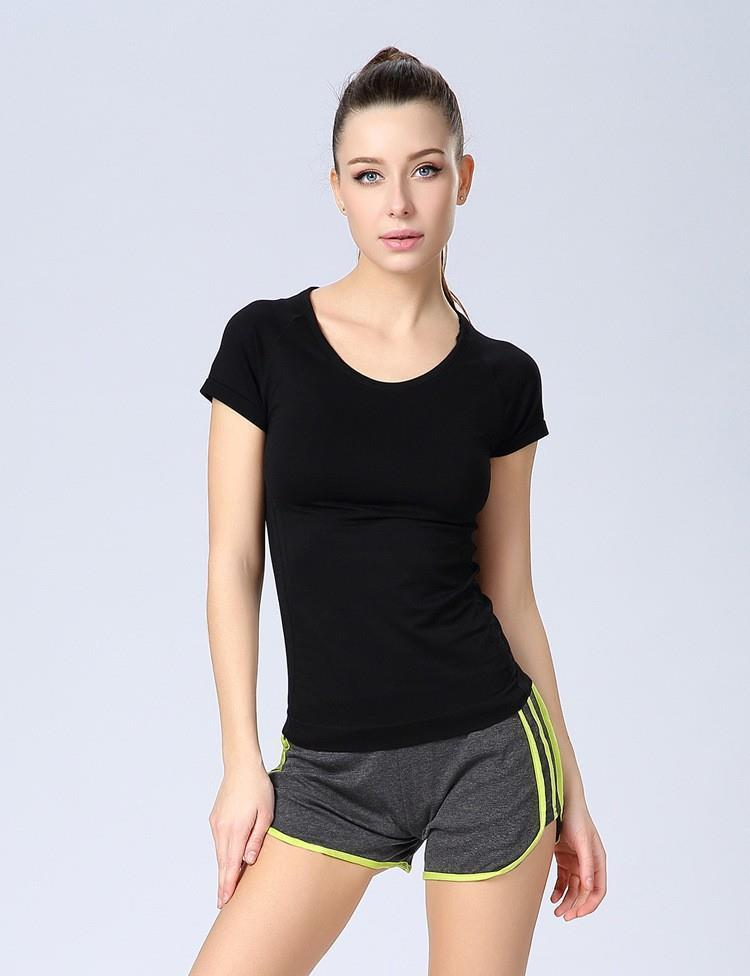 Women yoga sets quick dry fitness sportswear hooded t shirt+bra+pants 4 piece set womens outdoor sports running gym clothes US $ - / piece Free Shipping (4)   Orders (13).