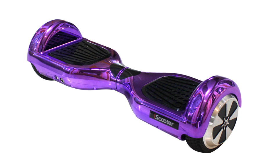new arrival chrome iscooter hoverboard 2 wheels self. Black Bedroom Furniture Sets. Home Design Ideas