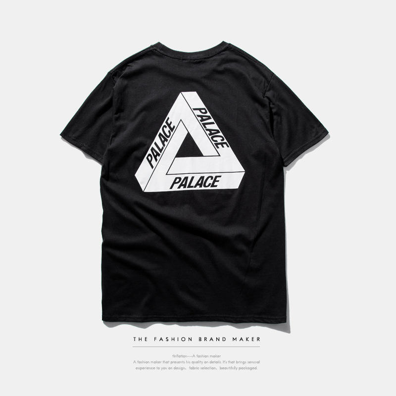 2016 Palace Skateboards Classic Triangle Print Mens T