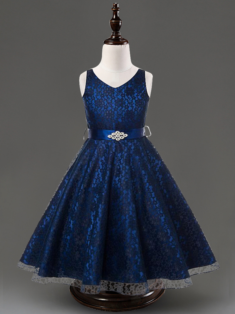 Childrens Royal Blue Party Dresses 101