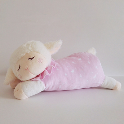2017 Children 39 S Baby Sleeping Pillow Lamb Baby Doll Plush
