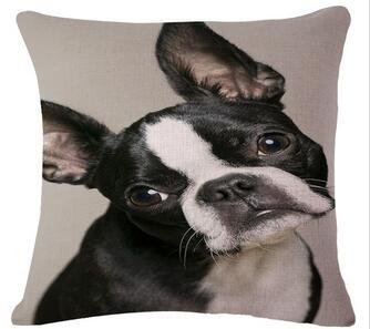 Cotton Linen Square Decorative Throw Pillowcase Cushion