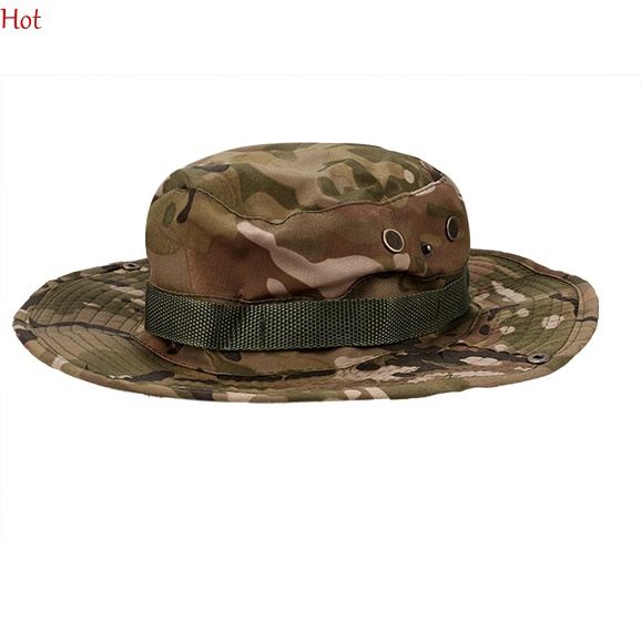 Mens bucket hats outdoor fishing hiking boonie snap brim for Fishing hats for sale
