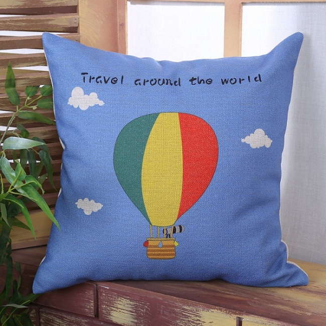 Throw Pillow Covers 25x25 : 6 Styles Car Bike Travel Sofa Custom Cushion Covers Bicycle Throw Pillows Cases Decorative ...