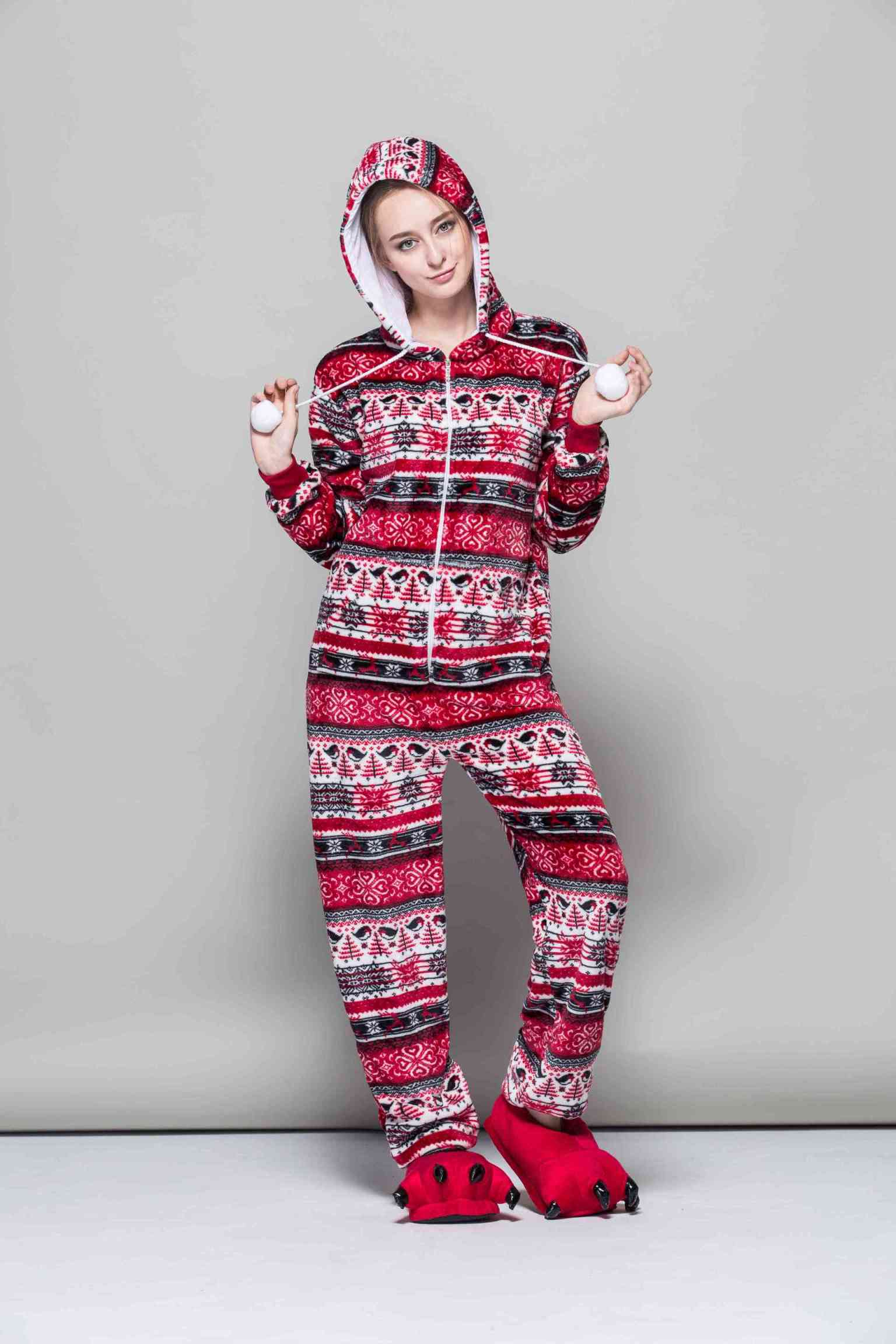 Girls Pajamas Christmas