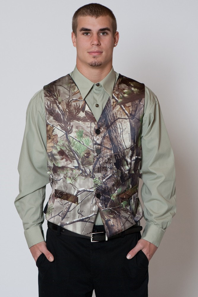 Camo Formal Bridal and Prom Camo Formals can be ordered in sizes and coordinating children's camo wedding vests, ties, and other camo-accented clothing is available for rush delivery. Camo Formal dresses are MADE IN THE USA and we ship to all states, CANADA and other countries. And for the guys in the wedding don't forget the men's.