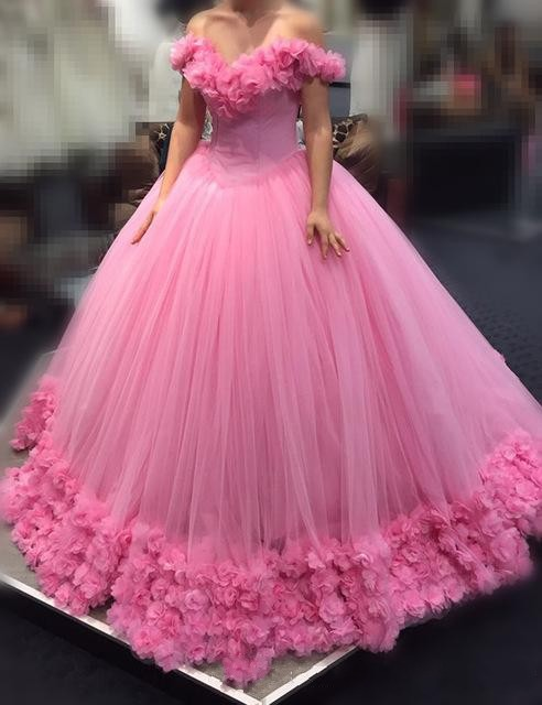 2017 hot pink quinceanera ball gown dresses off shoulder. Black Bedroom Furniture Sets. Home Design Ideas