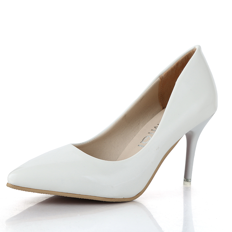 Pointed Dress Shoes Wedding Shoes Banquet Shoes Fine With Slim Follow The Trend Of The Times