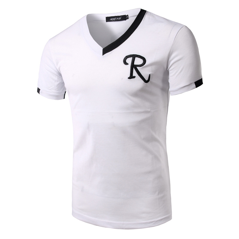 The new summer trend in 2017 men 39 s men 39 s r monogram for Mens dress shirt monogram location
